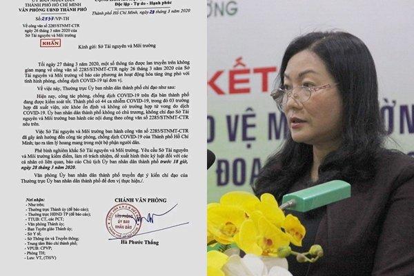 Khiển trách Phó GĐ Sở TN-MT ký văn bản hỏa táng bệnh nhân tử vong do Covid-19