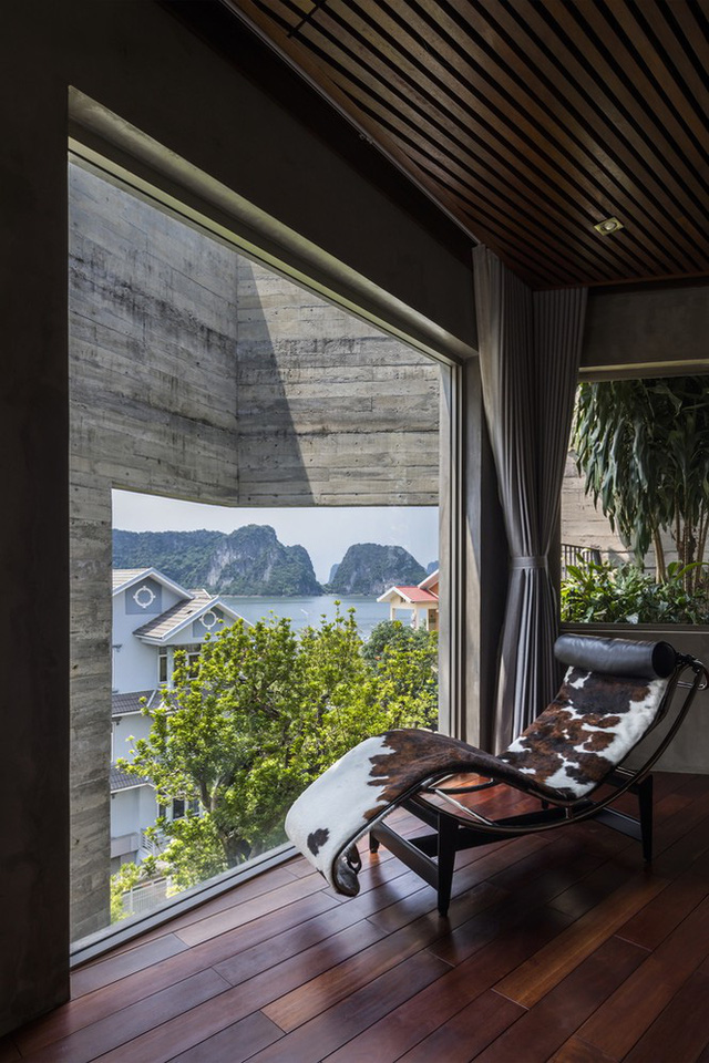 Mê mẩn biệt thự phủ kín cây xanh ở Hạ Long có view biển tuyệt đẹp                         -12