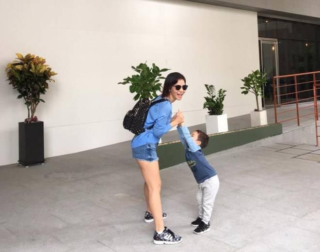 Con trai Thu Minh: Tiểu thiếu gia chưa lọt lòng đã có tài sản gần trăm tỷ, được mẹ nuôi dạy theo phương pháp hiện đại như này-2