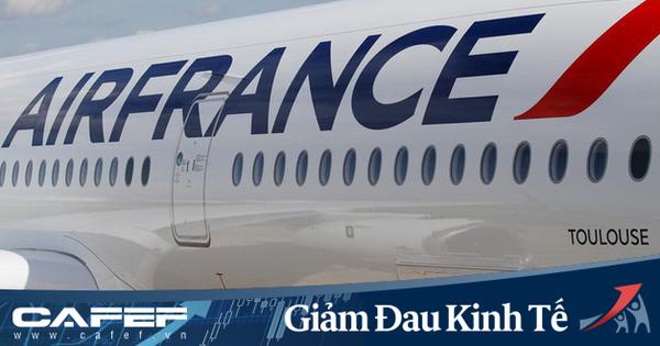 Pháp bơm 7 tỷ euro giải cứu Air France