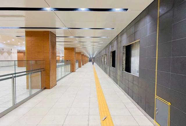 Khám phá bên trong ga ngầm Nhà hát Thành phố của tuyến metro Bến Thành - Suối Tiên                         -1
