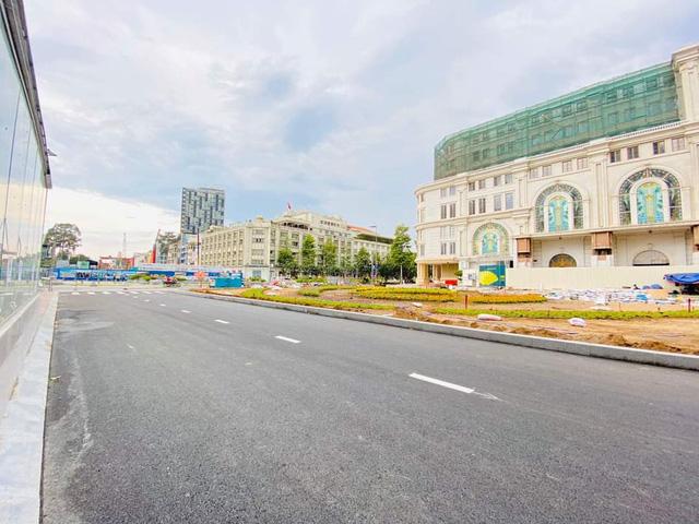 Khám phá bên trong ga ngầm Nhà hát Thành phố của tuyến metro Bến Thành - Suối Tiên                         -2