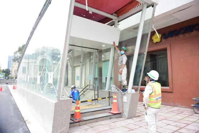 Khám phá bên trong ga ngầm Nhà hát Thành phố của tuyến metro Bến Thành - Suối Tiên                         -4