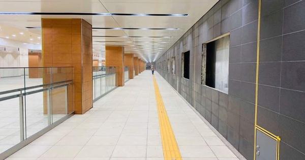 Khám phá bên trong ga ngầm Nhà hát Thành phố của tuyến metro Bến Thành - Suối Tiên