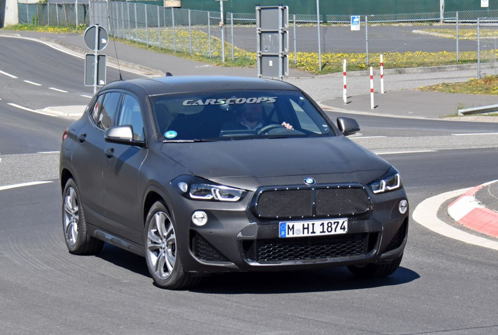 BMW X2 2021 nâng cấp sẽ sở hữu lưới tản nhiệt mới?