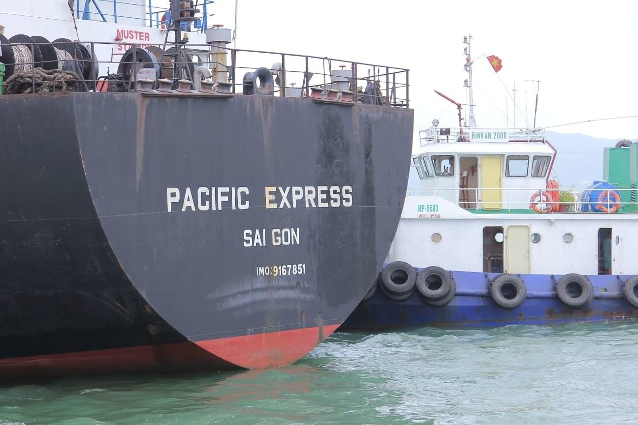 Xác định được tàu hàng đâm chìm tàu cá, bỏ mặc 3 ngư dân giữa biển Bình Định-1