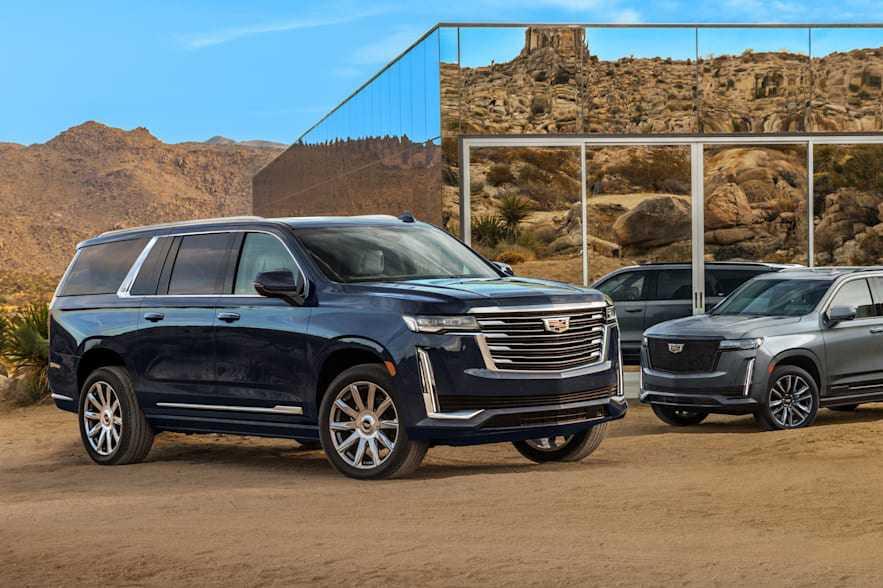 Cadillac Escalade đời mới chính thức có phiên bản kéo dài, thêm vài sự thay đổi so với bản gốc