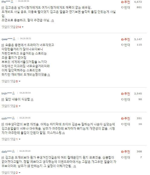 Quân vương bất diệt đầu tư hơn 600 tỷ nhưng rating vẫn thua Thế giới hôn nhân, Kim Go Eun bị chê ăn may nhờ có Gong Yoo - Lee Dong Wook-4