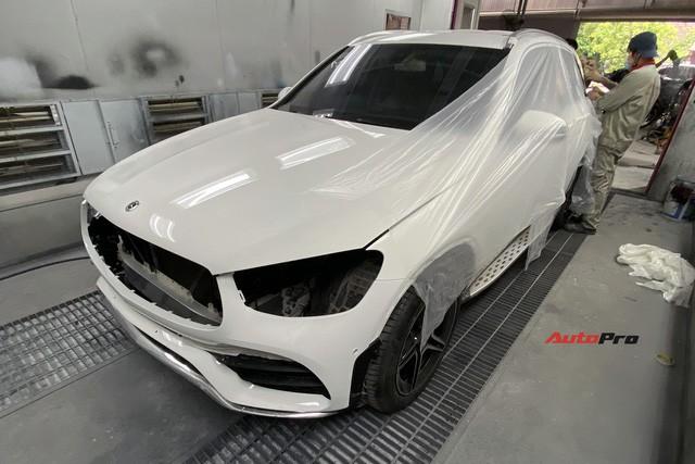 Mua xe chưa lâu đã ra phom mới, dân chơi Hà thành chi 250 triệu đồng lột xác Mercedes-Benz GLC 200 cũ thành GLC 300 AMG 2020-10