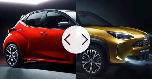 So sánh Toyota Yaris vs Yaris Cross: Khi xe chị em được nam tính hoá
