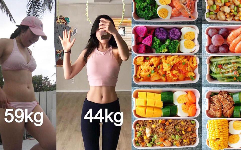Thực đơn ăn kiêng cho mỗi tuần trong 3 tháng, không tập luyện gì, nằm ngồi cả ngày cũng giảm được 15kg