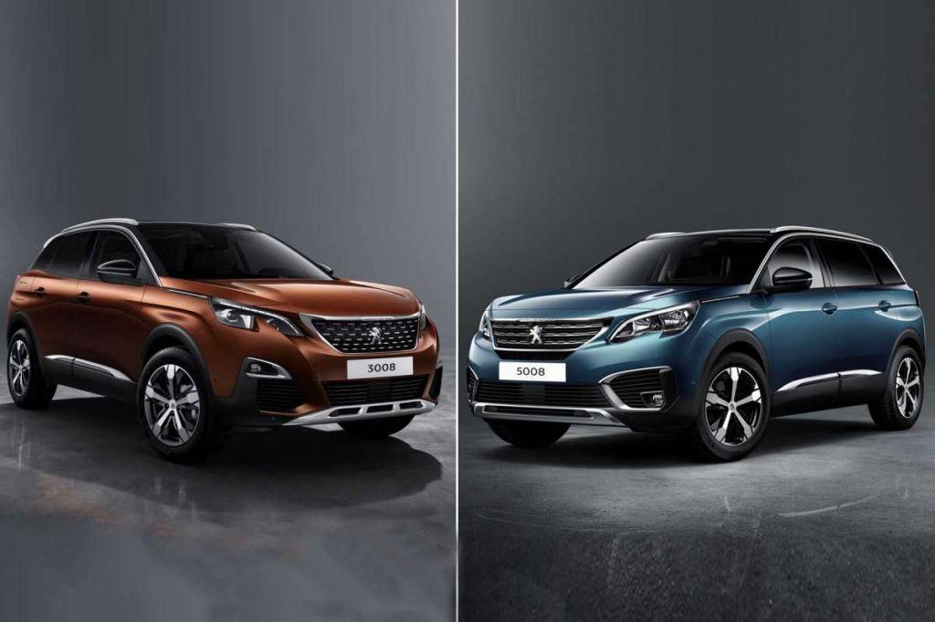 Cặp đôi Peugeot 3008 và 5008 giảm giá hấp dẫn