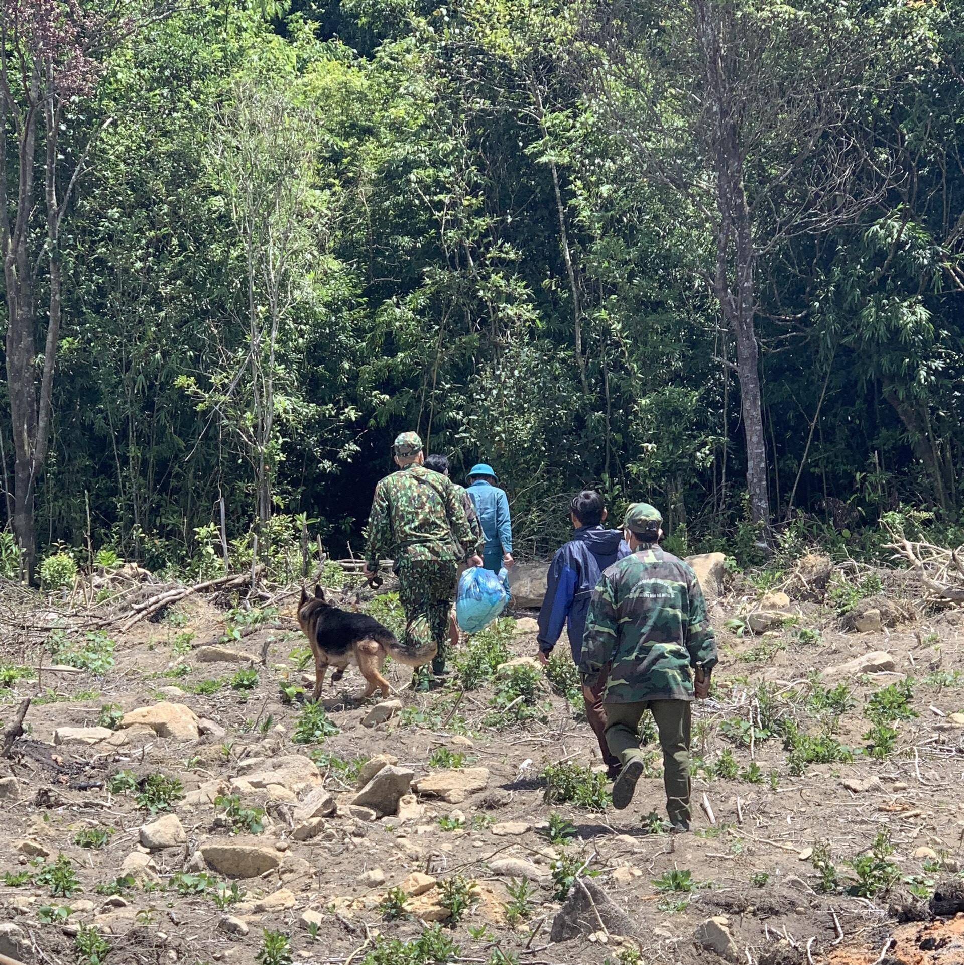 Ảnh: 20 giờ trèo đèo, lội suối tìm kiếm 2 cô gái bị lạc trong rừng sâu-2