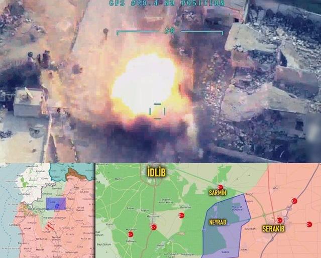 Cả gan bật lại ông chủ, phiến quân Syria bị UCAV Thổ săn diệt không thương tiếc?-1