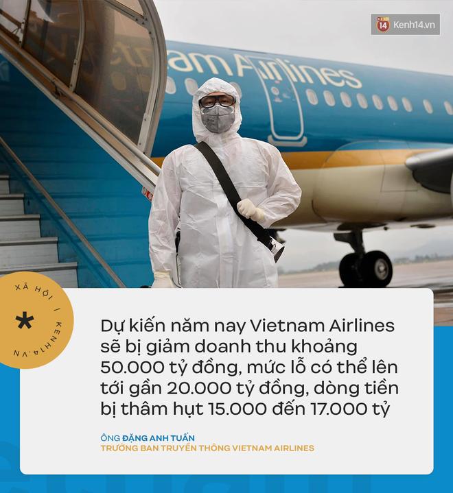 Đại diện Vietnam Airlines: Toàn bộ người lao động sẵn sàng tạm ngừng việc hoặc đi làm mà không hưởng lương-3