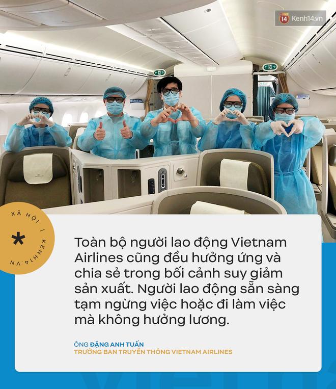 Đại diện Vietnam Airlines: Toàn bộ người lao động sẵn sàng tạm ngừng việc hoặc đi làm mà không hưởng lương-4
