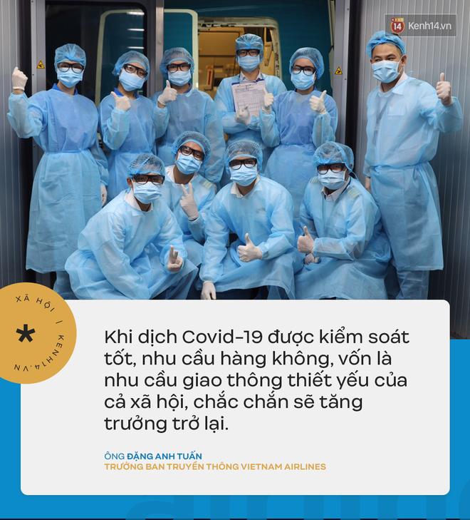 Đại diện Vietnam Airlines: Toàn bộ người lao động sẵn sàng tạm ngừng việc hoặc đi làm mà không hưởng lương-5