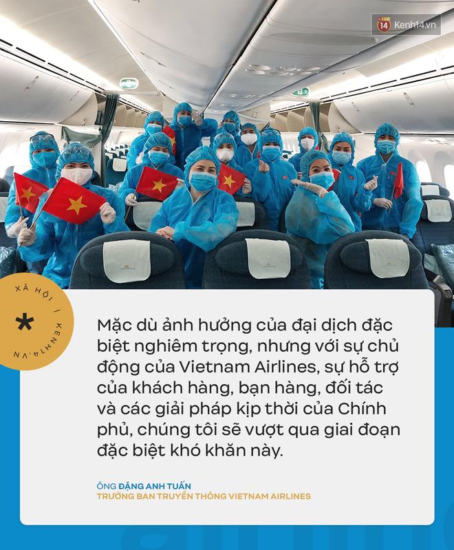 Đại diện Vietnam Airlines: Toàn bộ người lao động sẵn sàng tạm ngừng việc hoặc đi làm mà không hưởng lương-6