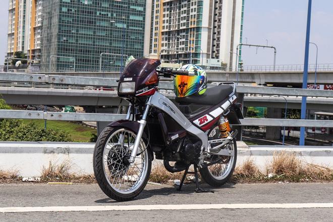 Xe 2 thì Yamaha ZR120 hàng hiếm tại Việt Nam - Huyền thoại một thời có giá bán 150 triệu đồng-12