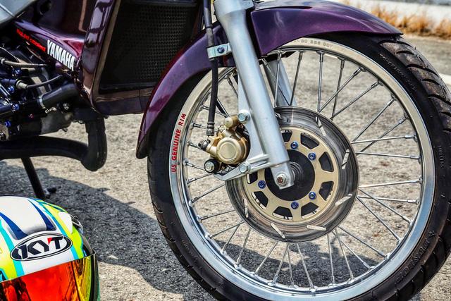 Xe 2 thì Yamaha ZR120 hàng hiếm tại Việt Nam - Huyền thoại một thời có giá bán 150 triệu đồng-8