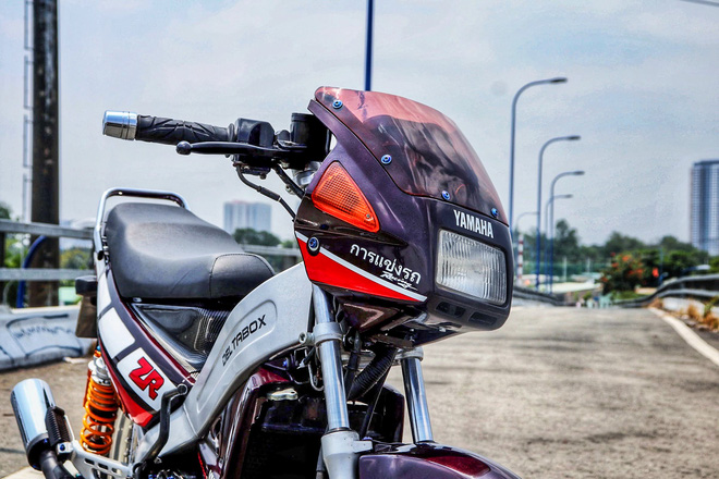 Xe 2 thì Yamaha ZR120 hàng hiếm tại Việt Nam - Huyền thoại một thời có giá bán 150 triệu đồng-6