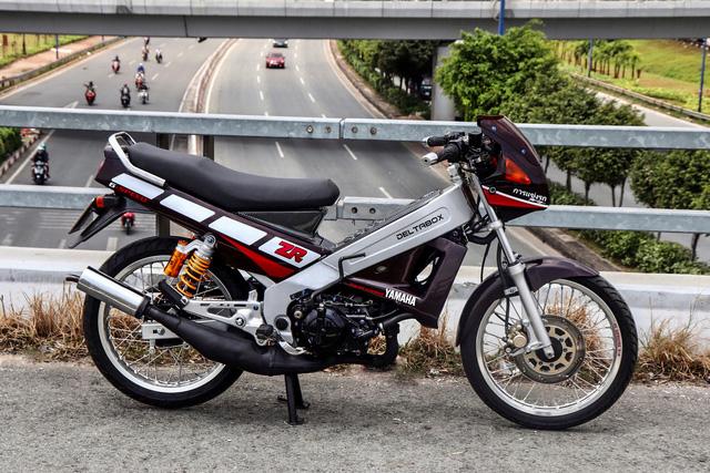 Xe 2 thì Yamaha ZR120 hàng hiếm tại Việt Nam - Huyền thoại một thời có giá bán 150 triệu đồng-5