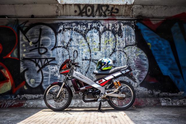 Xe 2 thì Yamaha ZR120 hàng hiếm tại Việt Nam - Huyền thoại một thời có giá bán 150 triệu đồng-9