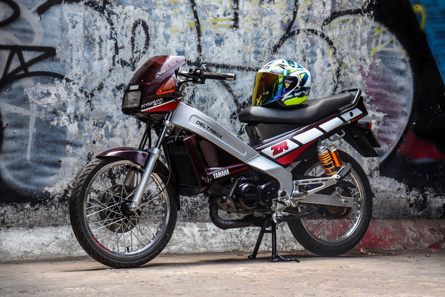 Xe 2 thì Yamaha ZR120 hàng hiếm tại Việt Nam - Huyền thoại một thời có giá bán 150 triệu đồng-1