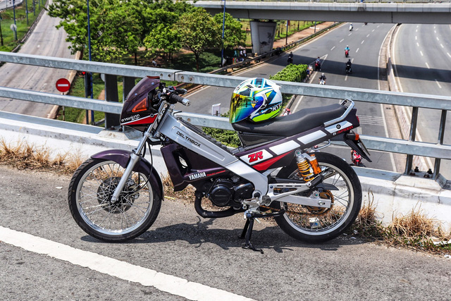 Xe 2 thì Yamaha ZR120 hàng hiếm tại Việt Nam - Huyền thoại một thời có giá bán 150 triệu đồng-3