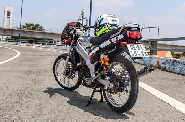 Xe 2 thì Yamaha ZR120 hàng hiếm tại Việt Nam - Huyền thoại một thời có giá bán 150 triệu đồng-4