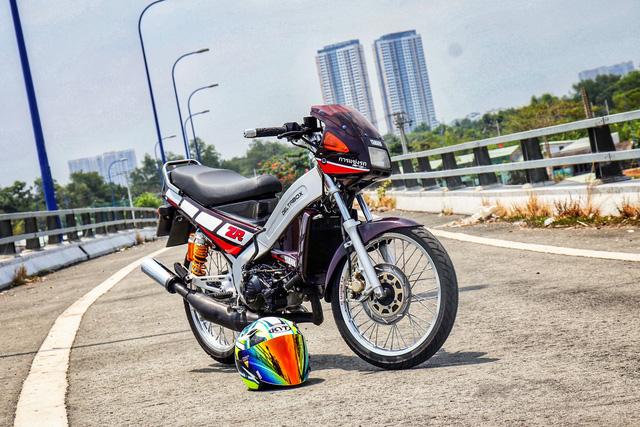 Xe 2 thì Yamaha ZR120 hàng hiếm tại Việt Nam - Huyền thoại một thời có giá bán 150 triệu đồng-2