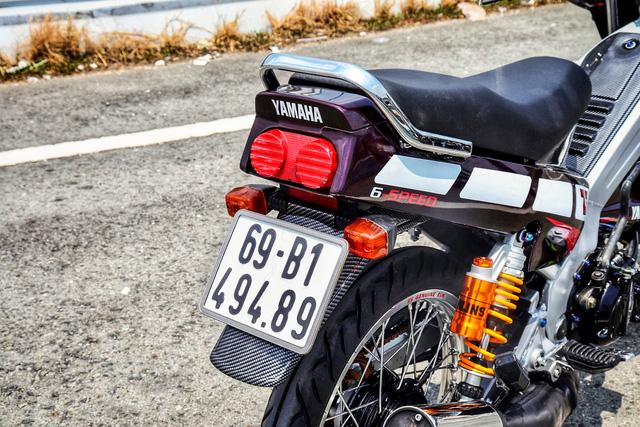 Xe 2 thì Yamaha ZR120 hàng hiếm tại Việt Nam - Huyền thoại một thời có giá bán 150 triệu đồng-10