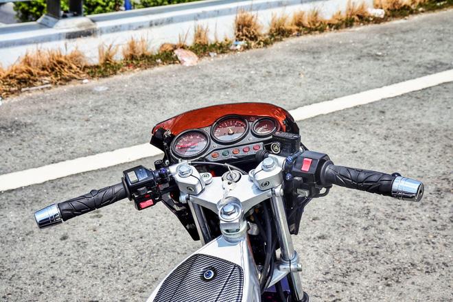 Xe 2 thì Yamaha ZR120 hàng hiếm tại Việt Nam - Huyền thoại một thời có giá bán 150 triệu đồng-7