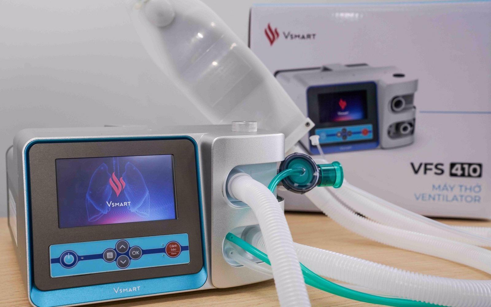 Vingroup hoàn thành, chuẩn bị đưa ra thị trường 2 mẫu máy thở