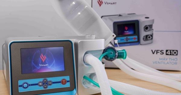 VINGROUP hoàn thành hai mẫu máy thở phục vụ điều trị Covid-19