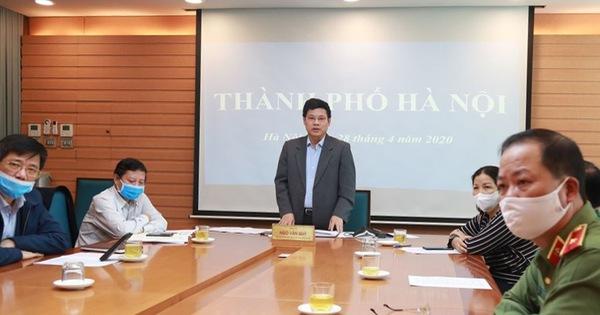 Hà Nội đề nghị xuống nhóm nguy cơ thấp khi ổ dịch kết thúc