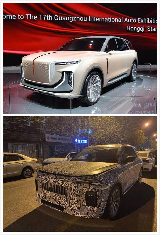 Hongqi sản xuất thương mại mẫu xe SUV chạy điện, thiết kế gần như bản concept                                            -1