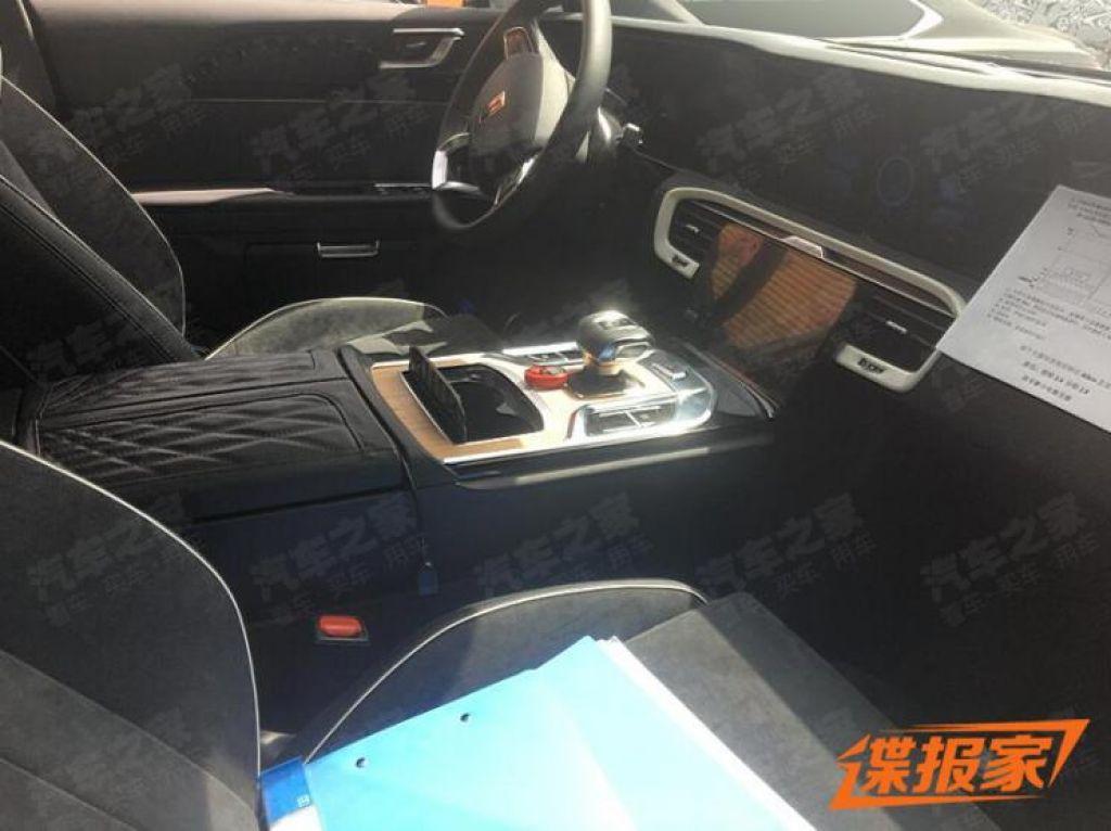 Hongqi sản xuất thương mại mẫu xe SUV chạy điện, thiết kế gần như bản concept                                            -2
