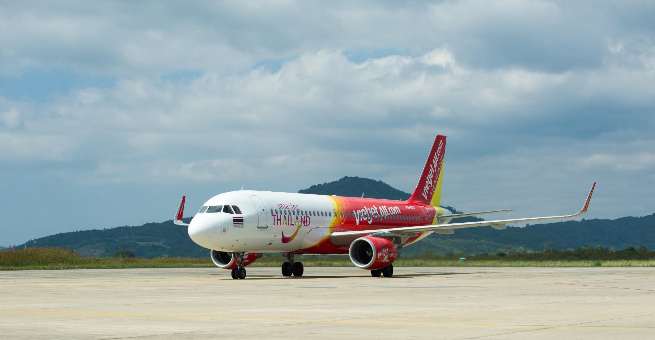 Vietjet khuyến mại lớn cho các đường bay tại Thái Lan với giá chỉ từ 9 Baht