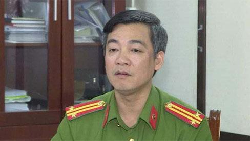 Thượng tá công an vừa được điều chuyển công tác liên quan đến vụ án Đường
