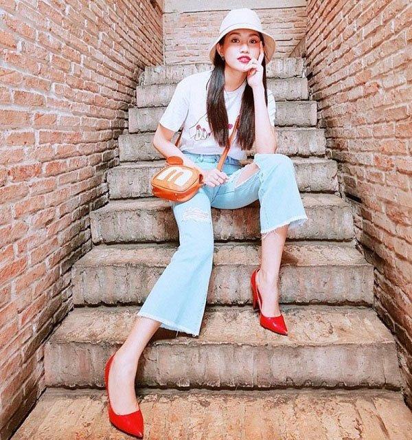 Muốn hô biến chân thon dài, chị em nhớ tìm tới mẫu quần được Lệ Quyên ưa chuộng lâu nay-17