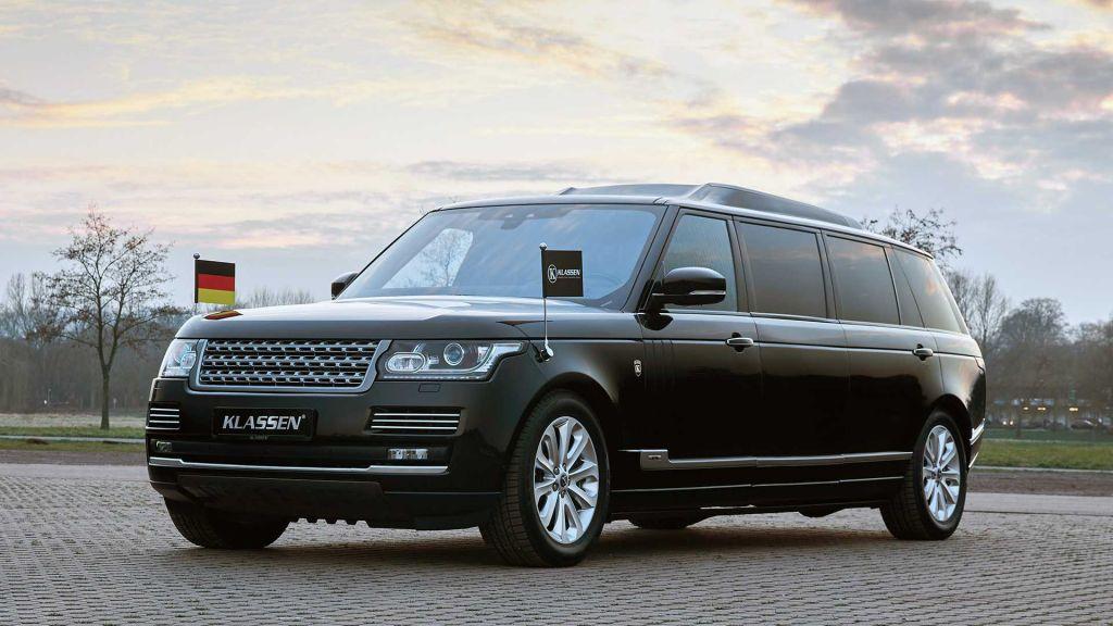 Chỉ dành cho nguyên thủ quốc gia, chiếc Range Rover này có giá gấp đôi lúc xuất xưởng
