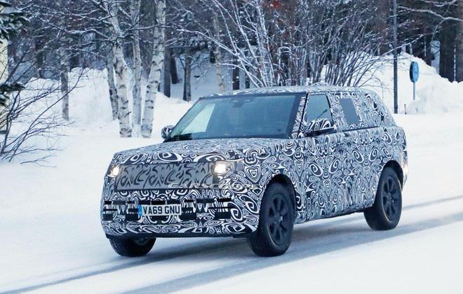 SUV hạng sang Range Rover thế hệ mới đang được gấp rút hoàn thiện-2