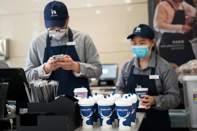 Luckin Coffee bị điều tra về việc ngụy tạo doanh thu                         -1