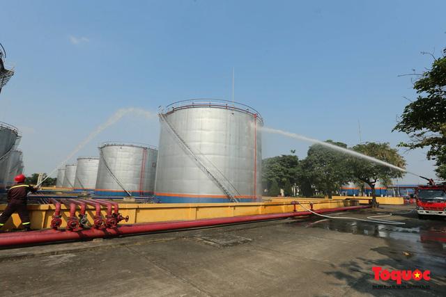Kiểm tra an toàn phòng cháy chữa cháy tại Tổng kho xăng dầu Đức Giang-10