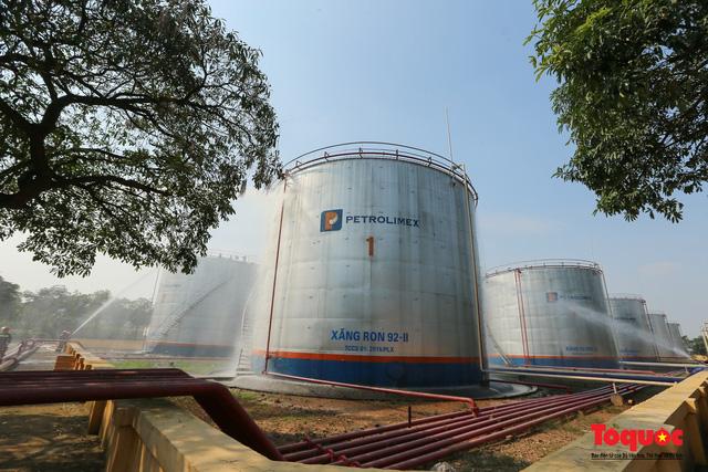 Kiểm tra an toàn phòng cháy chữa cháy tại Tổng kho xăng dầu Đức Giang-8