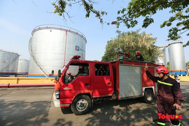 Kiểm tra an toàn phòng cháy chữa cháy tại Tổng kho xăng dầu Đức Giang-5