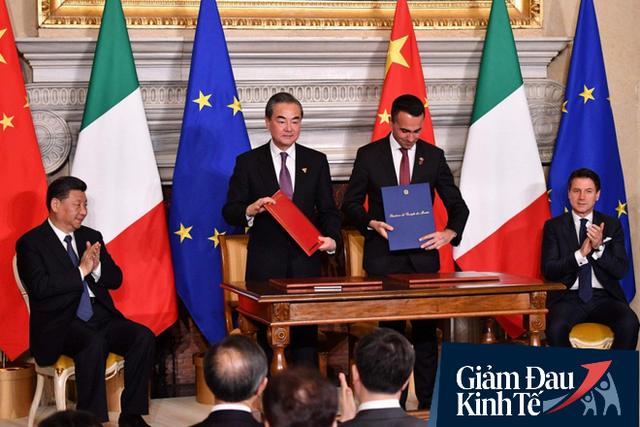 Italy đứng trước nguy cơ hứng chịu cuộc suy thoái sâu nhất trong lịch sử do COVID-19: Cơ hội béo bở cho TQ?                         -1