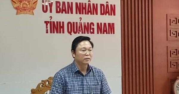 Chủ tịch tỉnh Quảng Nam: