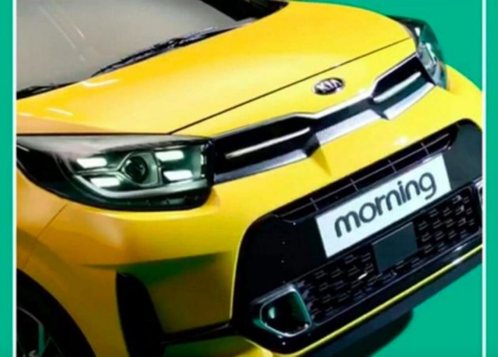 Kia Morning facelift 2021 bản nội địa Hàn lộ diện
